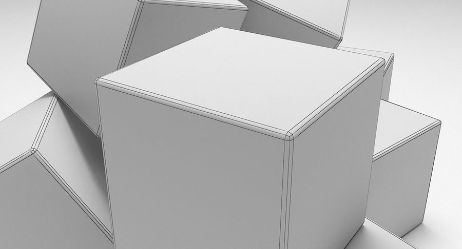Cubetti di ghiaccio per V-Ray royalty-free 3d model - Preview no. 8