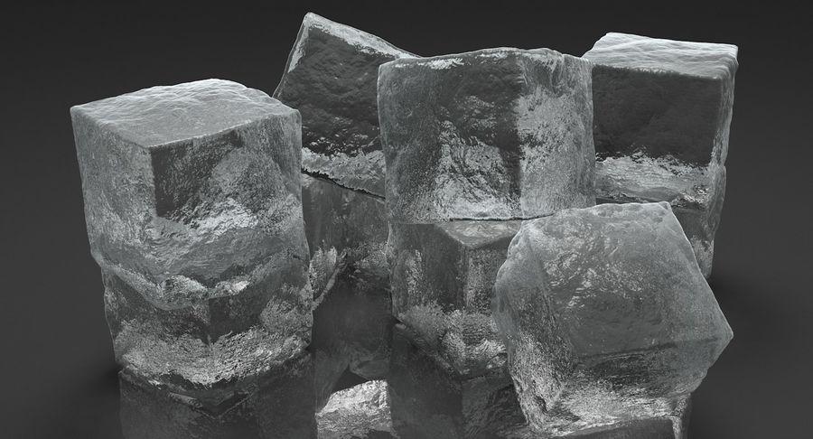 Cubetti di ghiaccio per V-Ray royalty-free 3d model - Preview no. 6