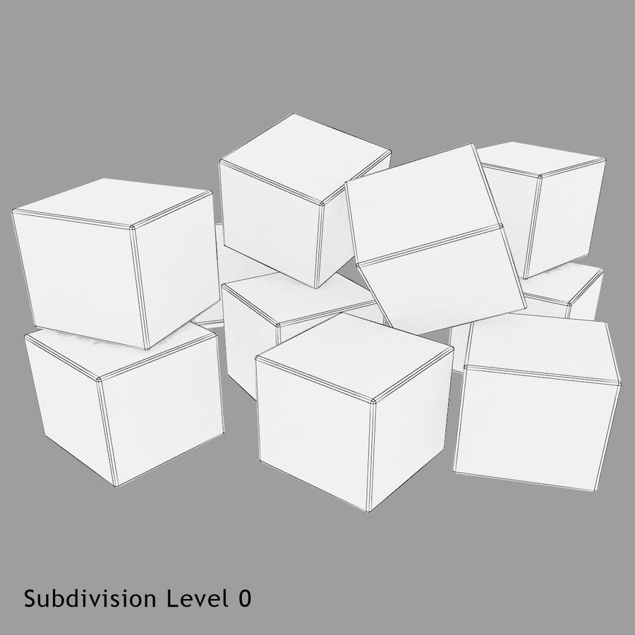 Cubetti di ghiaccio per V-Ray royalty-free 3d model - Preview no. 11