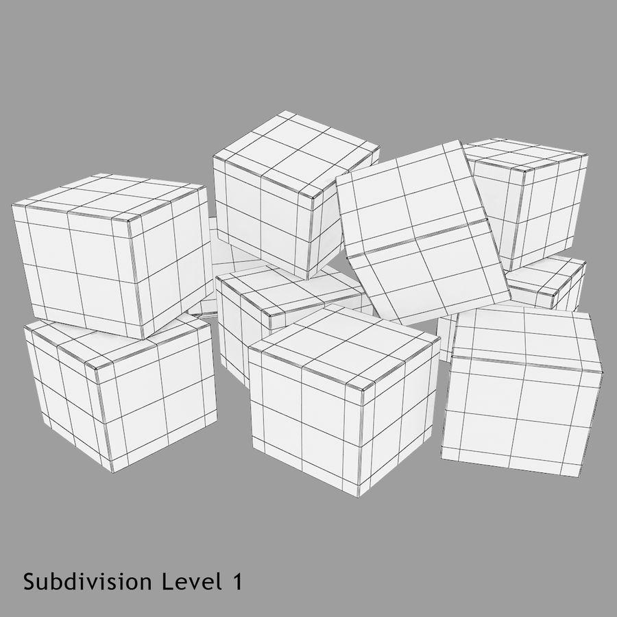 Cubetti di ghiaccio per V-Ray royalty-free 3d model - Preview no. 12