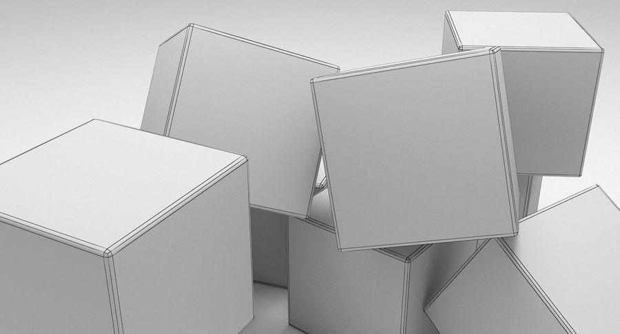 Cubetti di ghiaccio per V-Ray royalty-free 3d model - Preview no. 9