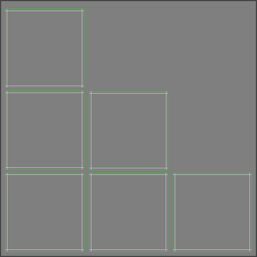 Cubetti di ghiaccio per V-Ray royalty-free 3d model - Preview no. 10