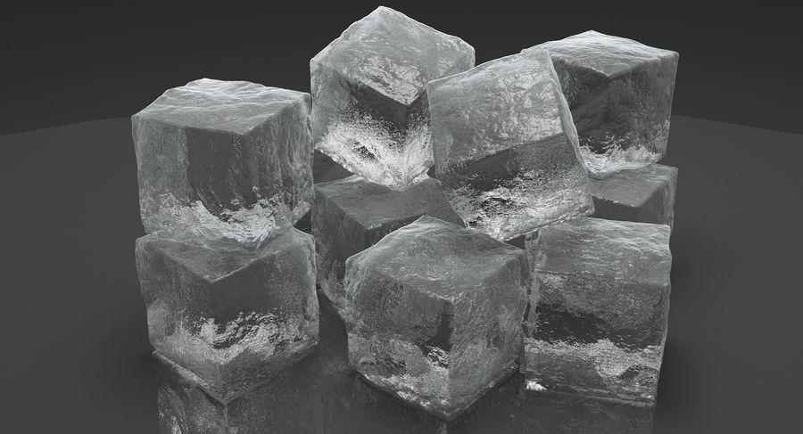 Cubetti di ghiaccio per V-Ray royalty-free 3d model - Preview no. 3