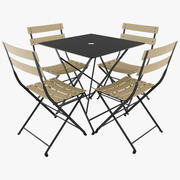 Fermob Bistro Table Chair 3d model