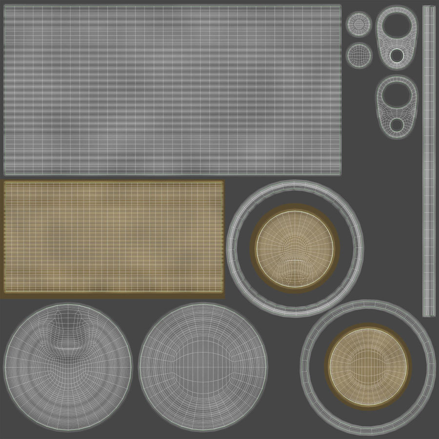 Tin Can royalty-free 3d model - Preview no. 21
