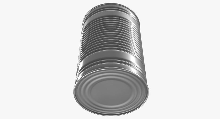 Tin Can royalty-free 3d model - Preview no. 11