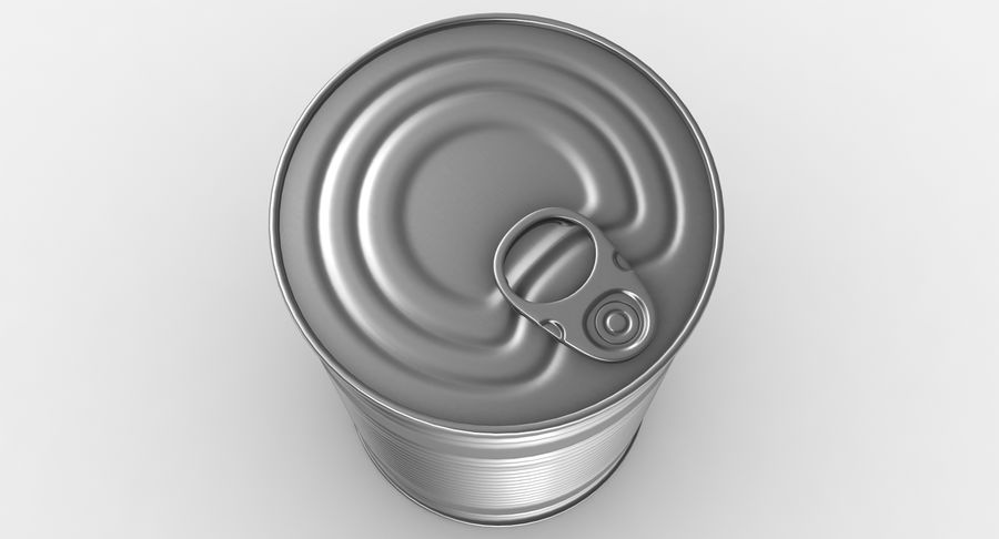 Tin Can royalty-free 3d model - Preview no. 7