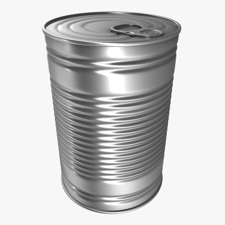 Tin Can royalty-free 3d model - Preview no. 1
