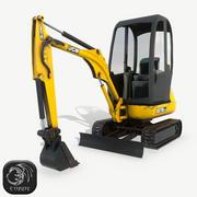 小型挖掘机JCB 8018 CTS 3d model