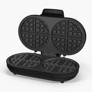 Double Waffle Maker 3d model