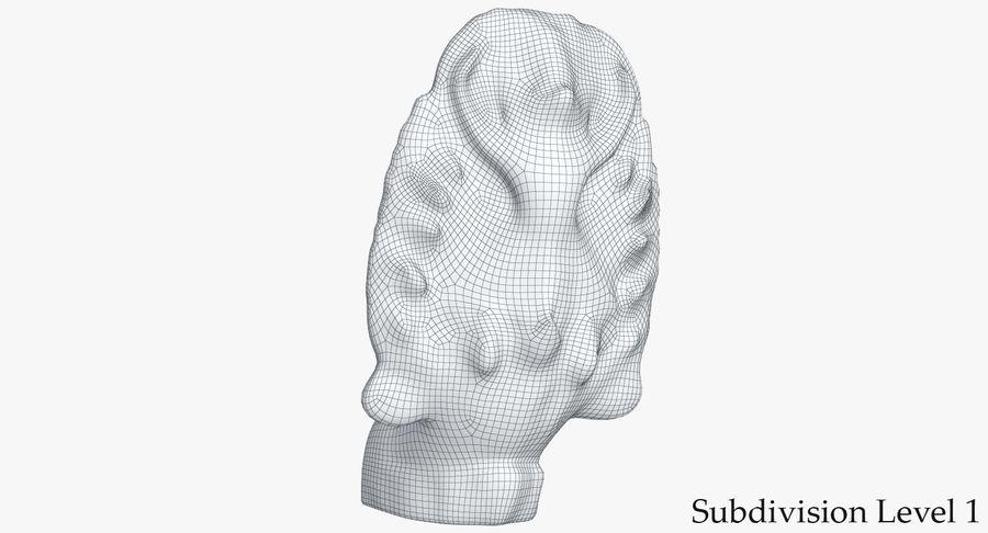 Rzeźba Ankor Wat Snake royalty-free 3d model - Preview no. 13
