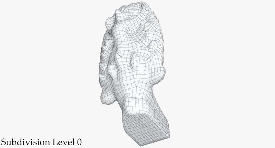 Rzeźba Ankor Wat Snake royalty-free 3d model - Preview no. 24