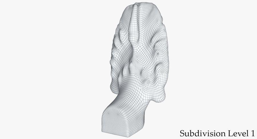 Rzeźba Ankor Wat Snake royalty-free 3d model - Preview no. 19