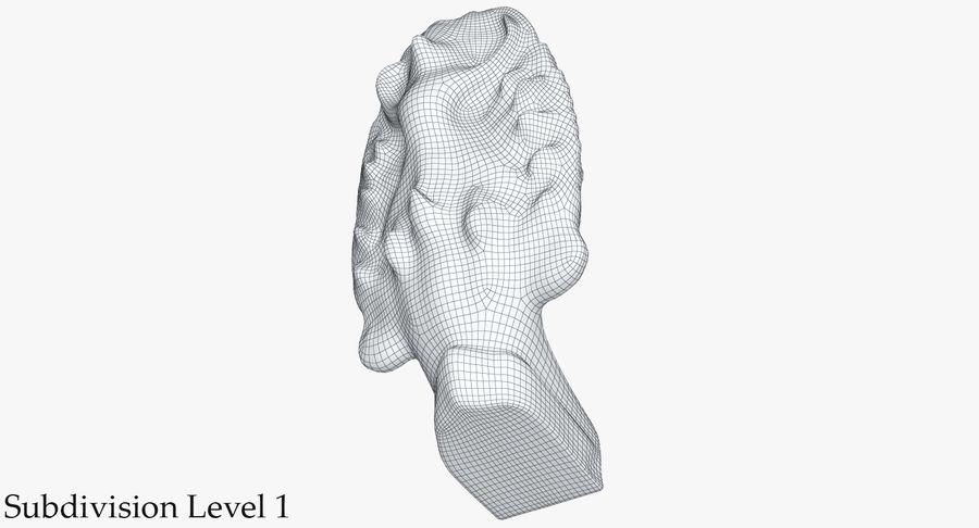 Rzeźba Ankor Wat Snake royalty-free 3d model - Preview no. 25