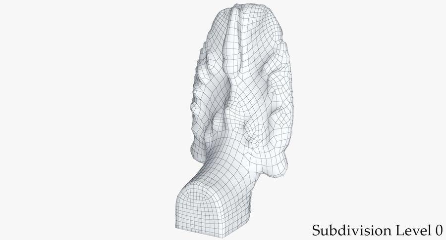 Rzeźba Ankor Wat Snake royalty-free 3d model - Preview no. 18
