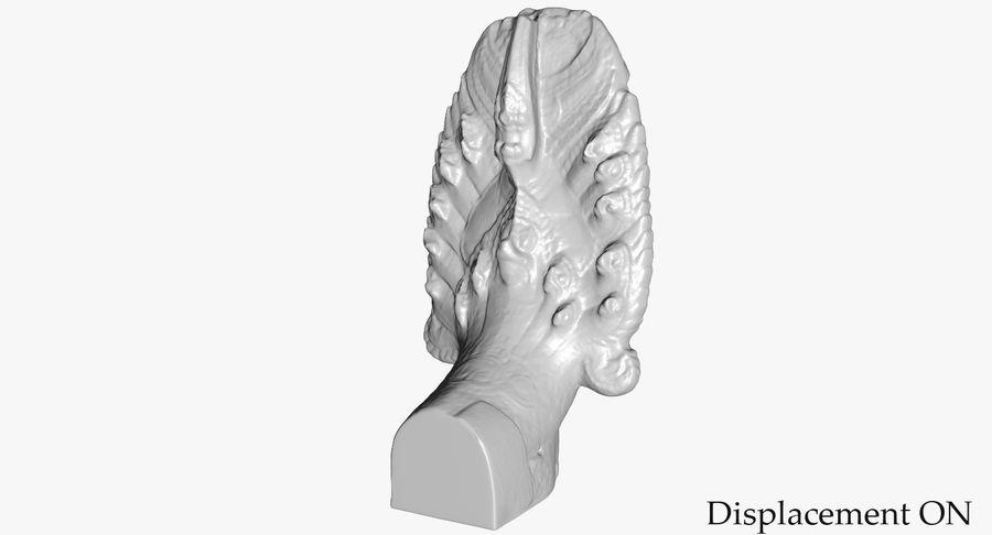 Rzeźba Ankor Wat Snake royalty-free 3d model - Preview no. 35