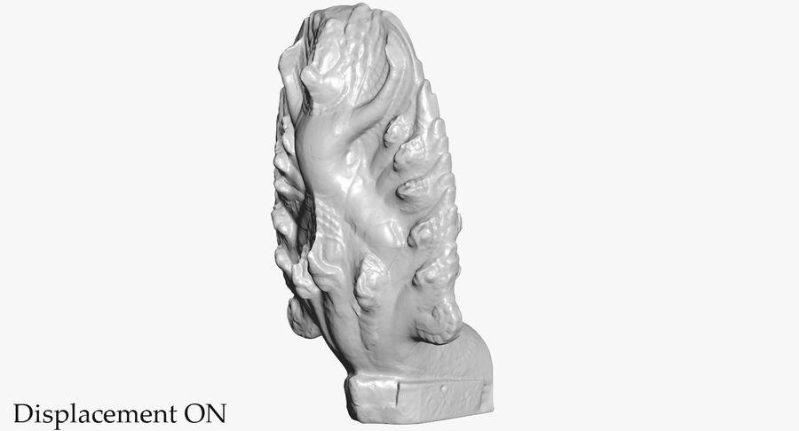 Rzeźba Ankor Wat Snake royalty-free 3d model - Preview no. 39