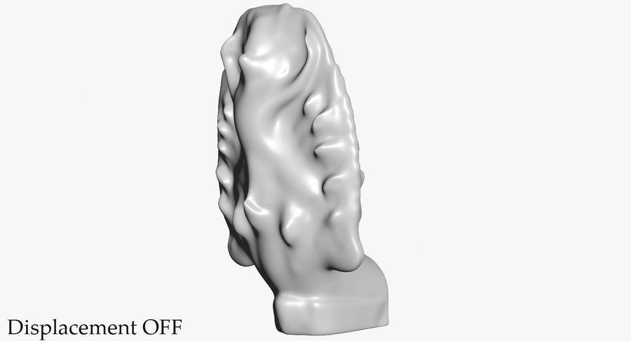 Rzeźba Ankor Wat Snake royalty-free 3d model - Preview no. 38