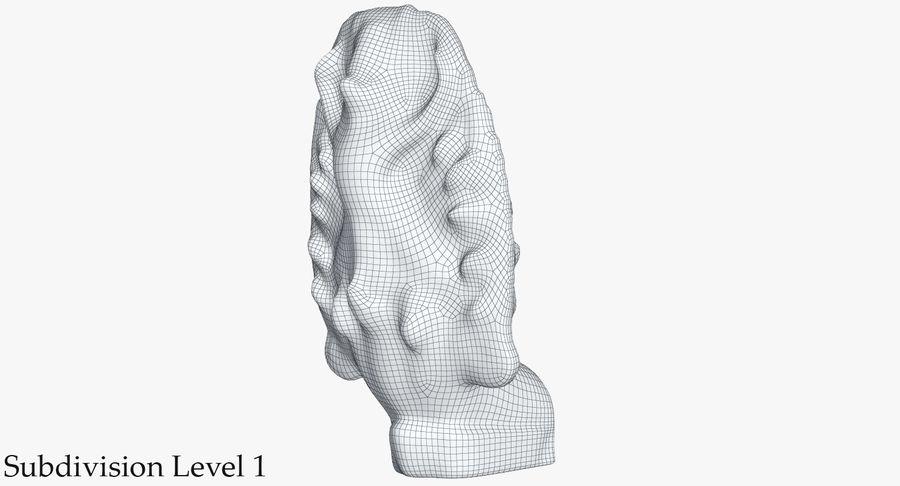Rzeźba Ankor Wat Snake royalty-free 3d model - Preview no. 23