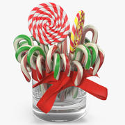 Christmas Candies 3 3d model