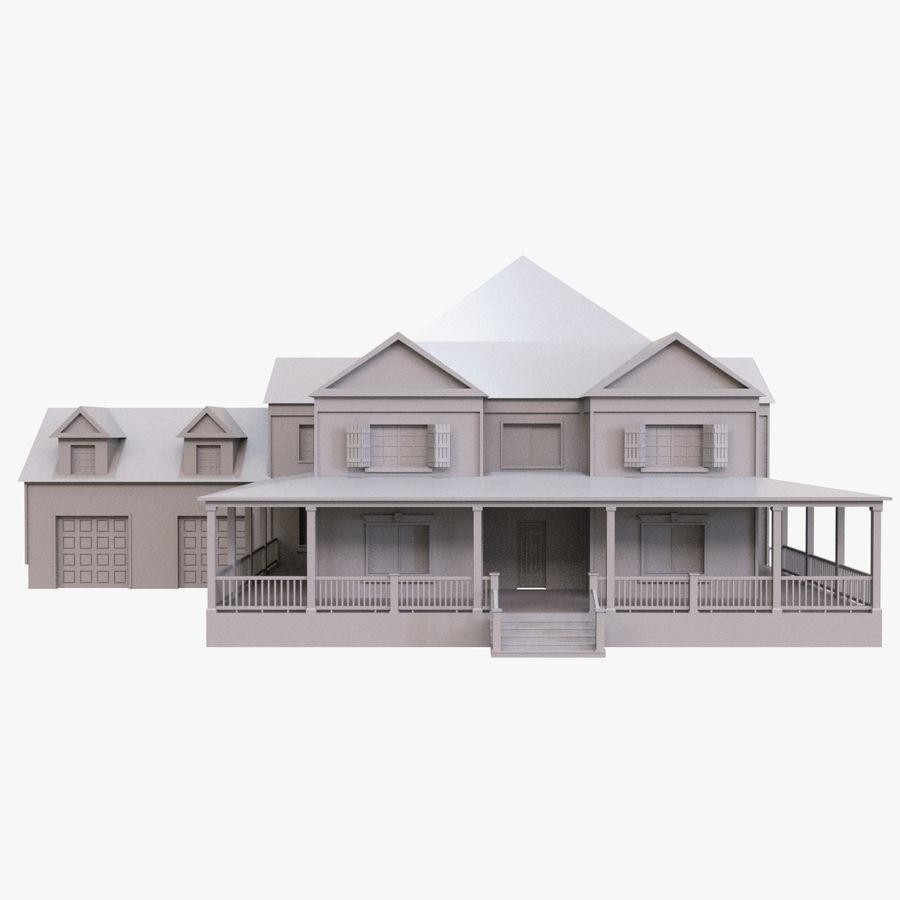 스토리 하우스 royalty-free 3d model - Preview no. 3