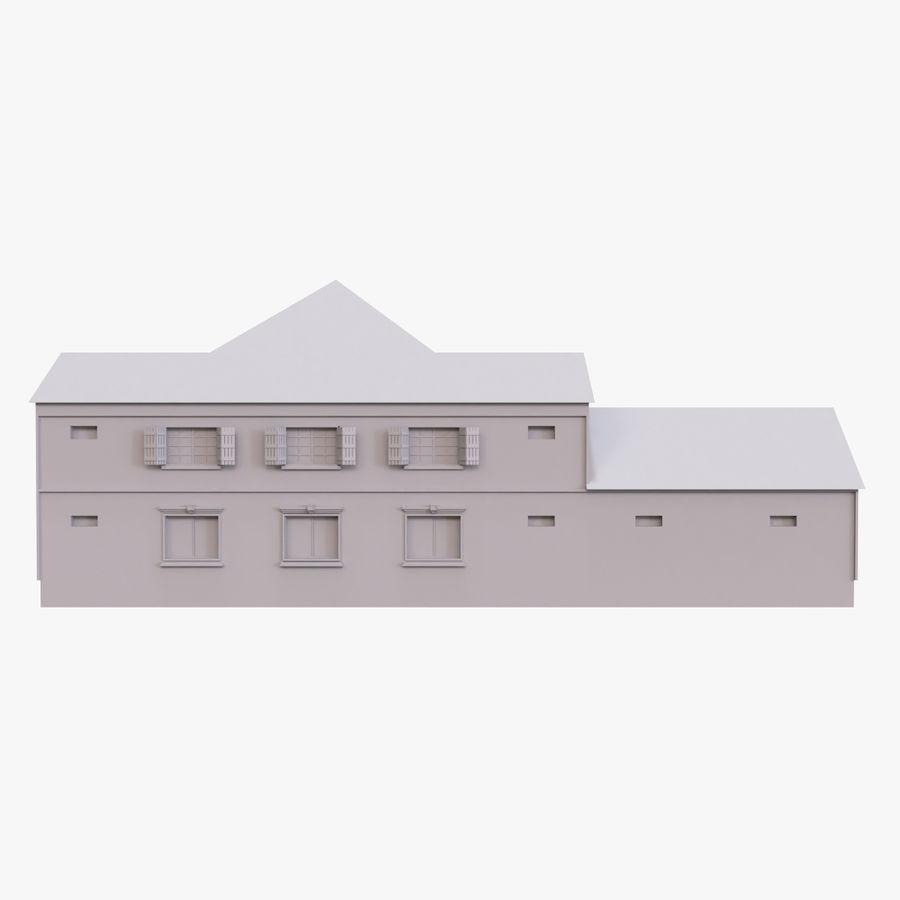 스토리 하우스 royalty-free 3d model - Preview no. 4