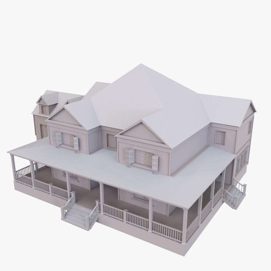 스토리 하우스 royalty-free 3d model - Preview no. 1