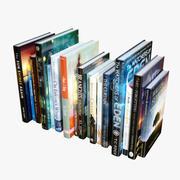 Books Fantasy 3d model