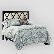 North Shore Condo Master Bed 3d model