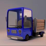 Cartoon Truck 3d model