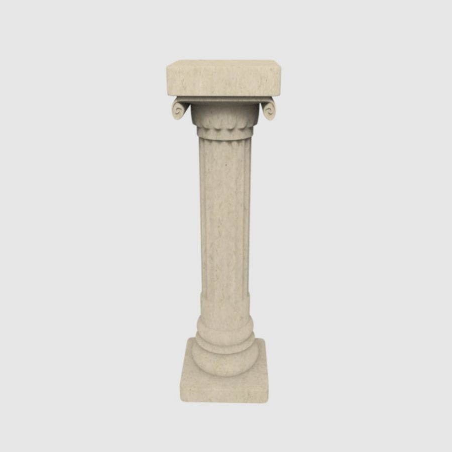 Pillar royalty-free 3d model - Preview no. 2