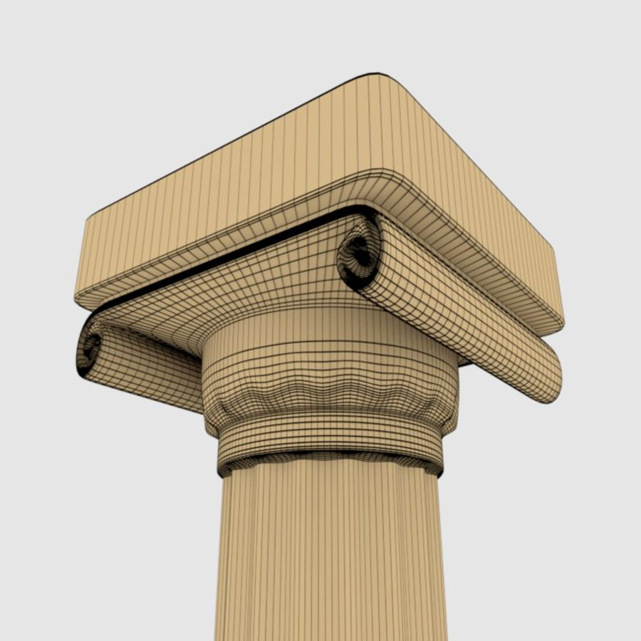 Pillar royalty-free 3d model - Preview no. 8
