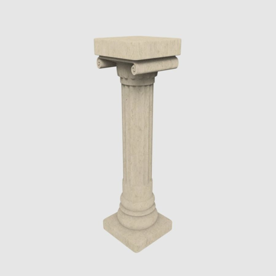Pillar royalty-free 3d model - Preview no. 1