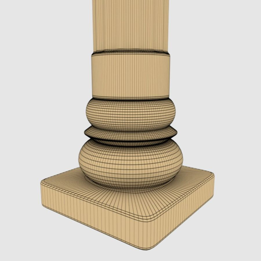Pillar royalty-free 3d model - Preview no. 7