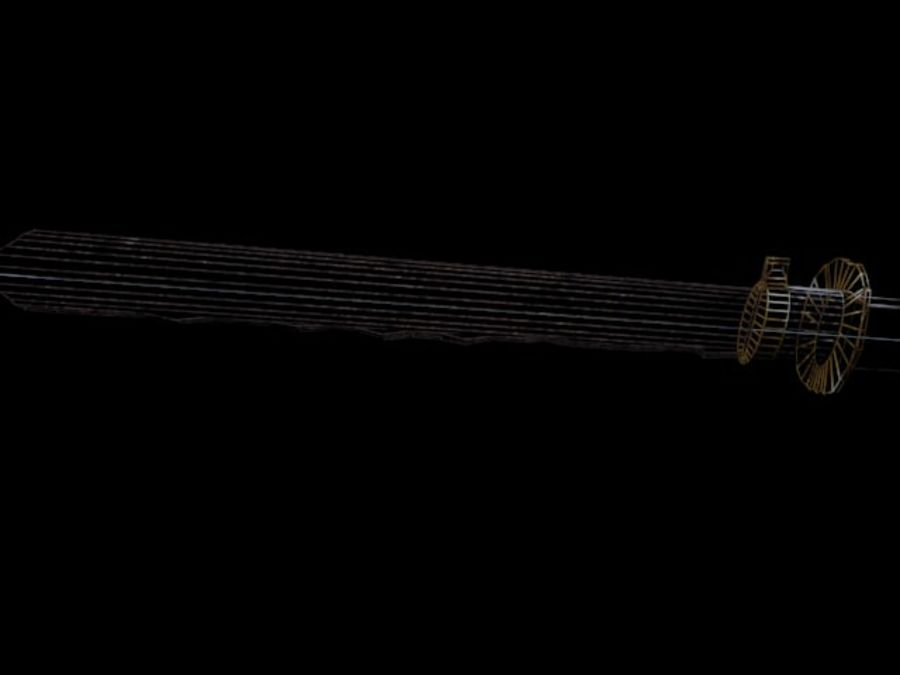 sword royalty-free 3d model - Preview no. 11