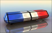 Полицейская сирена 3d model