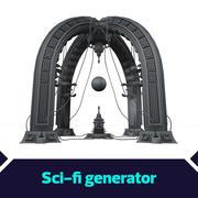 Scifi-generator 3d model