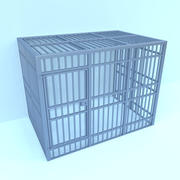 Gaiola de prisão 3d model