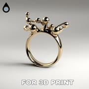 环3D打印 3d model