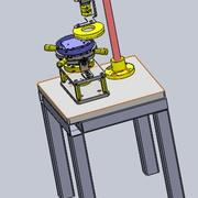 CCD-utrustning 3d model