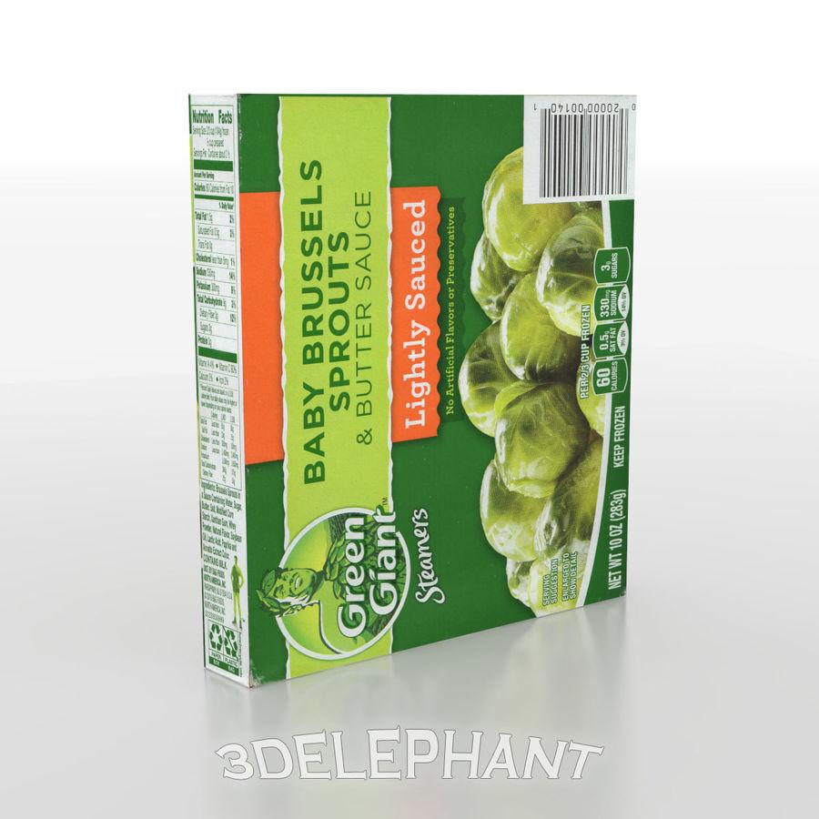Imballaggi per alimenti surgelati - Germogli royalty-free 3d model - Preview no. 4