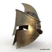 Medieval War Helmet 3d model