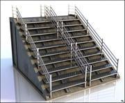 金属楼梯 3d model
