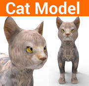 schattig kattenmodel 3d model