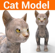 귀여운 고양이 모델 3d model