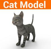 söt kattmodell 3d model
