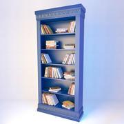 Antike Bibliothek 3d model