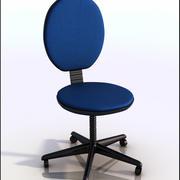 事務用椅子 3d model