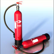Feuerlöscher 3d model