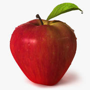 Apple frukt 3d model